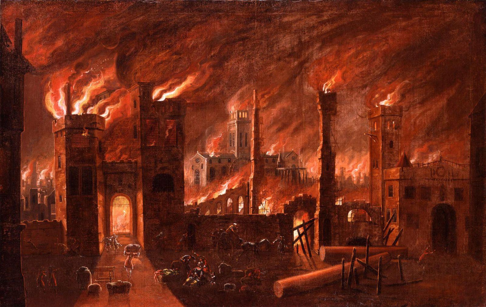 incendio di Londra
